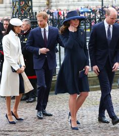 Duchess Kate: First Look: The Royals Arrive for Commonwealth Day Service!