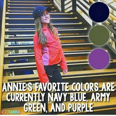 What are her fav colours now hm 🤔 Annie Gymnastics, Annie Leblanc, Blessed Are We, Annie Grace, Bratayley, Watch One, Sabrina Carpenter, First Girl, Dance Moms