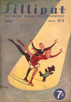 Walter Trier | Lilliput Magazine 1940