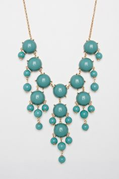 ShopSosie Style : Pompa Necklace in Mint
