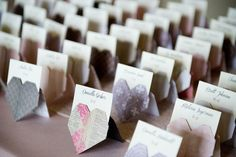 coeur origami wedding mariage