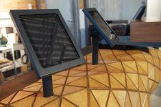 WoodSkin aims to bridge the gap between virtual design and real construction Flexible Plywood, Digital Fabrication, Folding Stool, Wood Surface, Flexibility, The Incredibles, Construction, Desk, Architecture