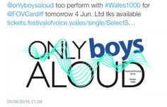 """OBA Festival of Voice Cardiff #Wales1000 """"2016"""""""
