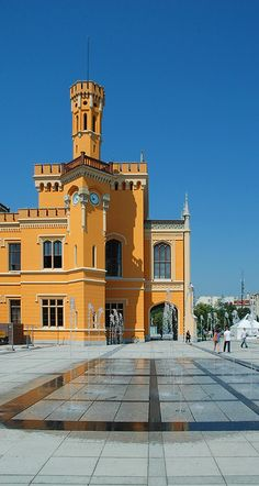 Wroclaw Main Station - Wroclaw, Dolnoslaskie