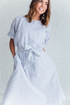 Florence Striped Dress