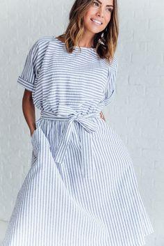 Florence Striped Dress