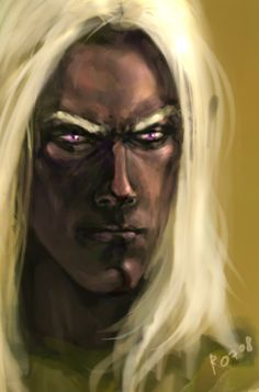 Drizzt by ~paradanmellow on deviantART