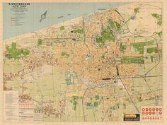 Oude kaart Den Haag CitoPlan [Den Haag 1935]