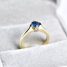 Fine jewelry by OrlandoCarrenoJewels Fine Jewelry, Unique Jewelry, Sapphire, Engagement Rings, Jewels, Trending Outfits, Etsy, Vintage, Rings For Engagement