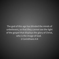 2 Corinthians 4:4