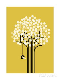 The Winter Tree Giclee Print by Budi Kwan - AllPosters.co.uk