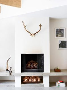 Elsker looket  - inspiration fireplaces