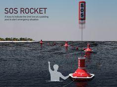 해상용 SOS 구조 신호 로켓 SOS Rocket – Emergency Buoy by Wonkyung Jang and Jaehyo Lee