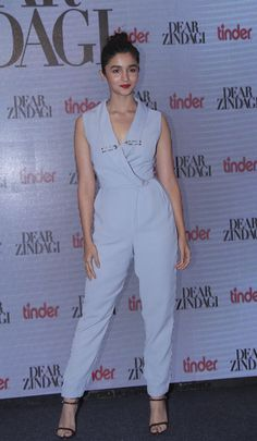 Alia Bhatt in a Lavish Alice Jumpsuit. WhatsApp us for Purchase & Inquiry : Buy Best Designer Collection from padukon Bollywood Girls, Bollywood Fashion, Bollywood Style, Indian Celebrities, Bollywood Celebrities, Star Fashion, Teen Fashion, Alia Bhatt Photoshoot, Aalia Bhatt
