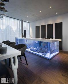 From Amsterdam-based design firm Kolenik Eco Chic Design - their unique Ocean Kitchen (Courtesy of Rene van Dongen)
