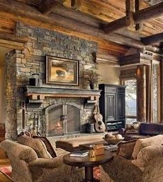 10 Most Simple Ideas: Fireplace Living Room Built Ins fireplace living room built ins.Cozy Fireplace Reading farmhouse fireplace wrap around porches.Concrete Fireplace How To Make. Stone Fireplace Pictures, Stone Fireplace Designs, Stacked Stone Fireplaces, Painted Brick Fireplaces, Rock Fireplaces, Rustic Fireplaces, Pictures Of Fireplaces, Cabin Fireplace, Farmhouse Fireplace