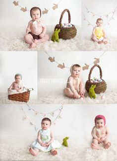 Photography Kids Indoor Mini Sessions 35 Ideas photography 35 Fairy Garden Ideas in a Pot Photography Mini Sessions, Holiday Photography, Spring Photography, Children Photography, Family Photography, Indoor Photography, Easter Backdrops, Easter Pictures, Foto Baby
