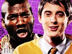 Mr. Rogers VS Mr. T