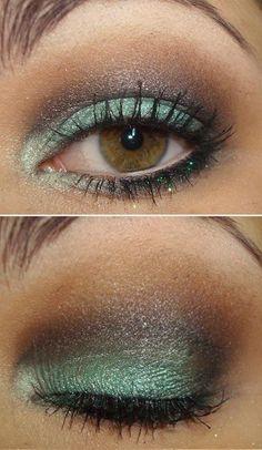 Fun for brown or hazel eyes