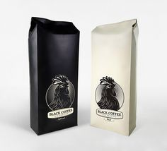 Black Coffee packaging by One Trick Pony