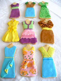Summer Dress Sugar Cookies: A tasty wardrobe!