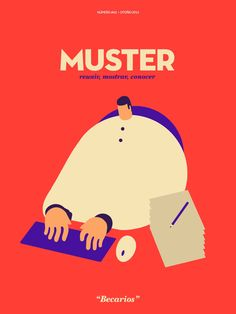 Magoz illustration animation cover for Muster - Internships