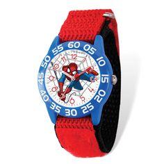 Marvel Kids Spiderman Time Teacher Watch