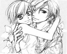 haruhi and tamaki in love by CrispinFreeman.deviantart.com on @deviantART