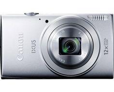 Canon Digitalkamera IXUS 170 20 Mio. Pixel Opt. Zoom: 12 x Silber