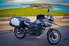 BMW F700GS with hard bags
