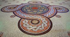 Manastirea Curtea De Arges | manastirea curtea de arges cathedral mosaic manastirea curtea de arges