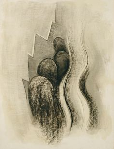 "magictransistor: "" Georgia O'Keeffe. Drawing XIII. 1915. """