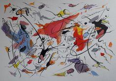 The thrill is gone / Acrílico sobre lienzo / 70cm x 50cm