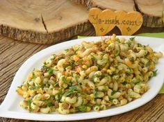 Mercimekli Makarna Salatası Resimli Tarifi - Yemek Tarifleri