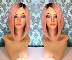 High Heat Synthetic Human Feel Ombre Lace by CherieHairExtensions