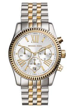 MICHAEL Michael Kors Michael Kors 'Lexington' Chronograph Bracelet Watch, 38mm available at #Nordstrom