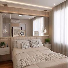 Quarto do casal! Por Marília Zimmermann Arquitetura e Interiores @marilia.arq  #cozinha #sucesso #sala #integração #sacada #varanda #espelho #reforma #reformar #reformando #ap #apto #meuap #cozinha #sofa #mesa #look #lookdodia #amo #amei #arquitetura #amor #amando #apaixonada #apaixonado #morar #casar #casando