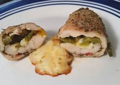 JalapeÃo cream cheese & mozzarella stuffed chicken Recipe -  Very Delicious. You must try this recipe!