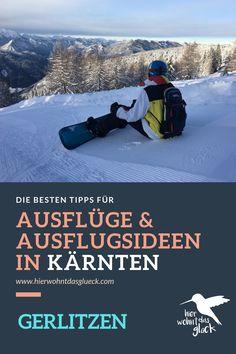 """Wir alle kennen das Gefühl, wenn es am Vorabend geschneit hat und wir vor lauter Freude am liebsten sofort auf den nächsten Berg fahren würden, um zu """"powdern"""".  Diese Verhältnisse findet man auf der Gerlitzen in Kärnten mit Blick auf den Ossiacher See. Mehr auf unserer Homepage :) #kärnten #gerlitzen #skifahren #snowboardfahren #urlaubinkärnten #urlaubinösterreich #winterwonderland #ausflügeinkärnten #ausflügeinösterreich #hierwohntdasglück #ossiachersee Snowboard, Berg, Desktop Screenshot, Ski, Road Trip Destinations, Glee"""