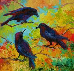Roundtable Discussion - Crows by Marion Rose 72d005a61defe