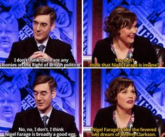 """On Nigel Farage: 