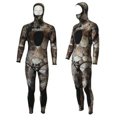 107.87$  Buy here - http://aliehk.shopchina.info/go.php?t=32796978595 - REALON Surfing Wetsuit 5mm Neoprene Free Diving Spearfishing Scuba Dive Suit Camo Snorkeling Body Women and Mens 107.87$ #buyonlinewebsite