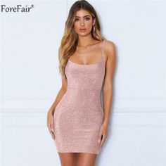 1788c157ab1 Forefair Halter Ruched Short Party Club Dress Women Summer 2019 - Aladdin s  Box. Let The