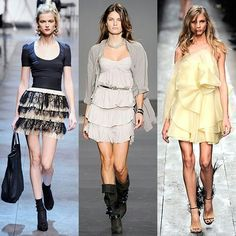 Romantic style fashion