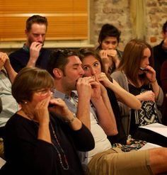 The Indytute Harmonica School Experience // If you want an instrument that fits comfortably in your pocket then learning the double bass probably won't suffice. This harmonica workshop is a 90-minute class to get you to grips with the harmonica and even take part in a blues jam.
