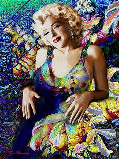 Marilyn in Art - fb.com/TheoDanella Posters/Prints: www.PVZ.net ... and many more.... www.danella.de _____