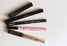 My Top 5 | Liquid Eyeliners #beauty #makeup #bblogger