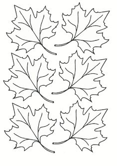 printables for kids Rock Crafts, Fall Crafts, Fall Leaf Template, Printable Leaves, Autumn Leaves Craft, Chinese Crafts, Free Adult Coloring, Easy Coloring Pages, Felt Leaves