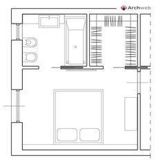 Резултат слика за modern Minimalist Walk-in Closet Innovative Design, Cabina Armadio by Porro Master Bedroom Addition, Master Bedroom Plans, Master Bedroom Layout, Master Bedroom Closet, Bedroom Floor Plans, Master Room, Bedroom Layouts, Master Bedrooms, Upstairs Bedroom