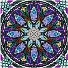 New Mandala by ~relplus on deviantART